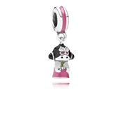 Pandora Korean Doll  Charm