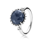 Pandora Shining Midnight Crystal Ring