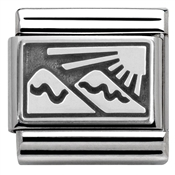 Nomination Silver Mountains Charm