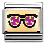 Nomination Pink Sunglasses Charm