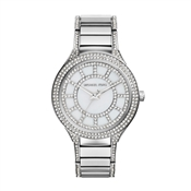 Michael Kors Kerry Silver Crystal Watch