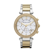 Michael Kors Parker Two Tone Ladies Watch