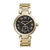 Michael Kors Skylar Gold & Black Ladies Watch