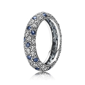 Pandora Cosmic Ring - Midnight Blue