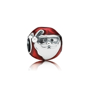 PANDORA Jolly Father Christmas Santa Charm
