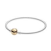 PANDORA 14ct Gold Clasp Bangle