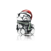 PANDORA Christmas Teddy Bear Charm
