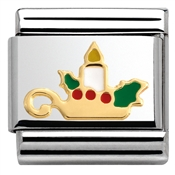 Nomination Christmas Candle Charm