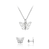 Argento Delicate Butterfly Gift Set