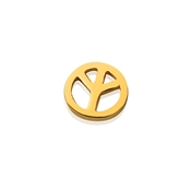 Storie Gold Peace Charm