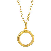 Storie Small Gold Locket