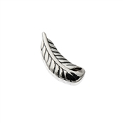 Storie Silver Feather Charm