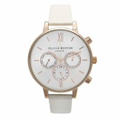 Olivia Burton Chronograph Mink & Rose Gold Watch