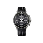 Thomas Sabo Black Leather Chrono Watch
