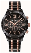 Thomas Sabo Black Rose Gold Stainless Steel watch