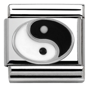 Silver Yin Yang Charm by Nomination