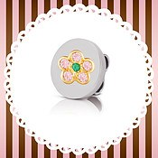 Nomination My Bonbons Flower Charm