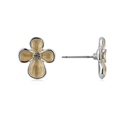 August Woods Outlet   Trio Flower Pendant Studs