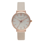 Olivia Burton Hackney Nude & Rose Watch