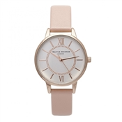 Olivia Burton Wonderland Dusty Pink Mix Watch