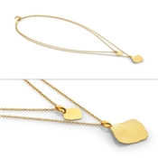 Nomination Ninfea Gold Double Necklace