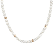 Argento Rose Gold Pearl Necklace