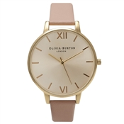 Olivia Burton Big Dial Dusty Pink Watch