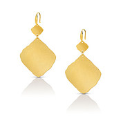 Ninfea Large Gold Earrings by Nomination