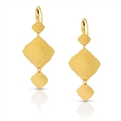 Nomination Ninfea Triple Gold Earrings