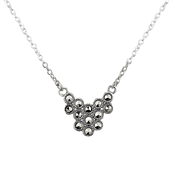 Argento Geo Design Marcasite Necklace