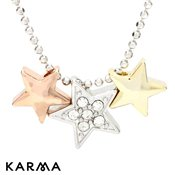 Karma Star Necklace