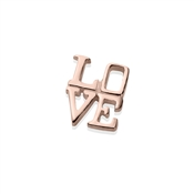 Storie Rose Gold Love Charm