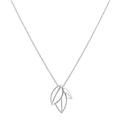 Argento Outlet Open Leaves Necklace