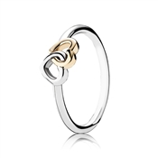 PANDORA Entwined Hearts Ring