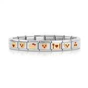 Nomination Home is Where the Heart is Bracelet