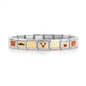 Nomination Fall in Love Valentines Bracelet