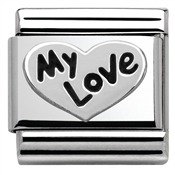 Nomination Silvershine My Love Charm