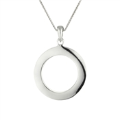 Argento Circle Necklace