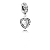 PANDORA Mum Centre of My Heart Charm