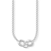 Thomas Sabo Silver Charm Club Necklace