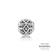 PANDORA ESSENCE Silver Affection Charm