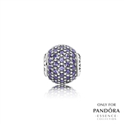 PANDORA ESSENCE Silver Faith Charm