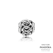 PANDORA ESSENCE Silver Friendship Charm