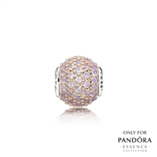PANDORA ESSENCE Rose Gold Love Charm