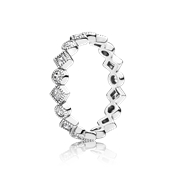 PANDORA Alluring Briliant Princess Ring