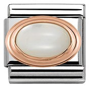 Nomination Rose Gold Mother of Pearl Charm