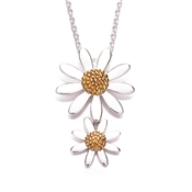 Daisy London Two Drop Daisy Necklace