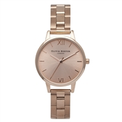 Olivia Burton Midi Dial Rose Gold Bracelet Watch
