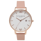 89fc99a8de5e0 Olivia Burton Timeless Dusty Pink   Rose Gold Watch