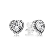 PANDORA Sparkling Heart Earrings